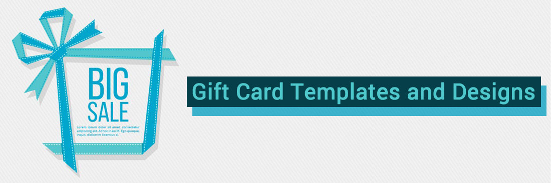 Gift Card Templates and Designs