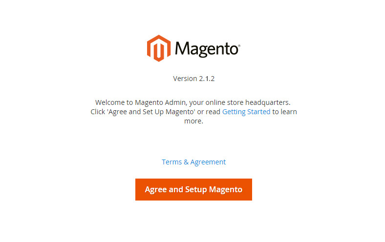 Installing Magento and The Template
