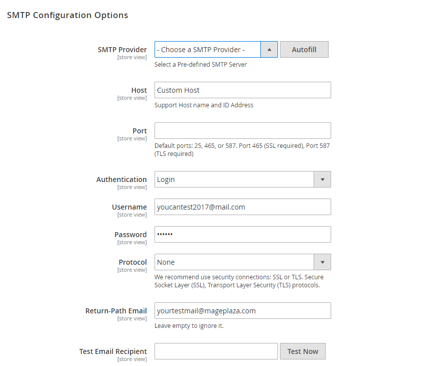 How to configure Outlook Office365 SMTP in Magento 2 – Mageplaza