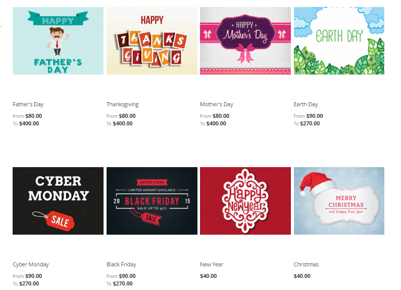 Mageplaza Gift Card & Identify the voucher's theme