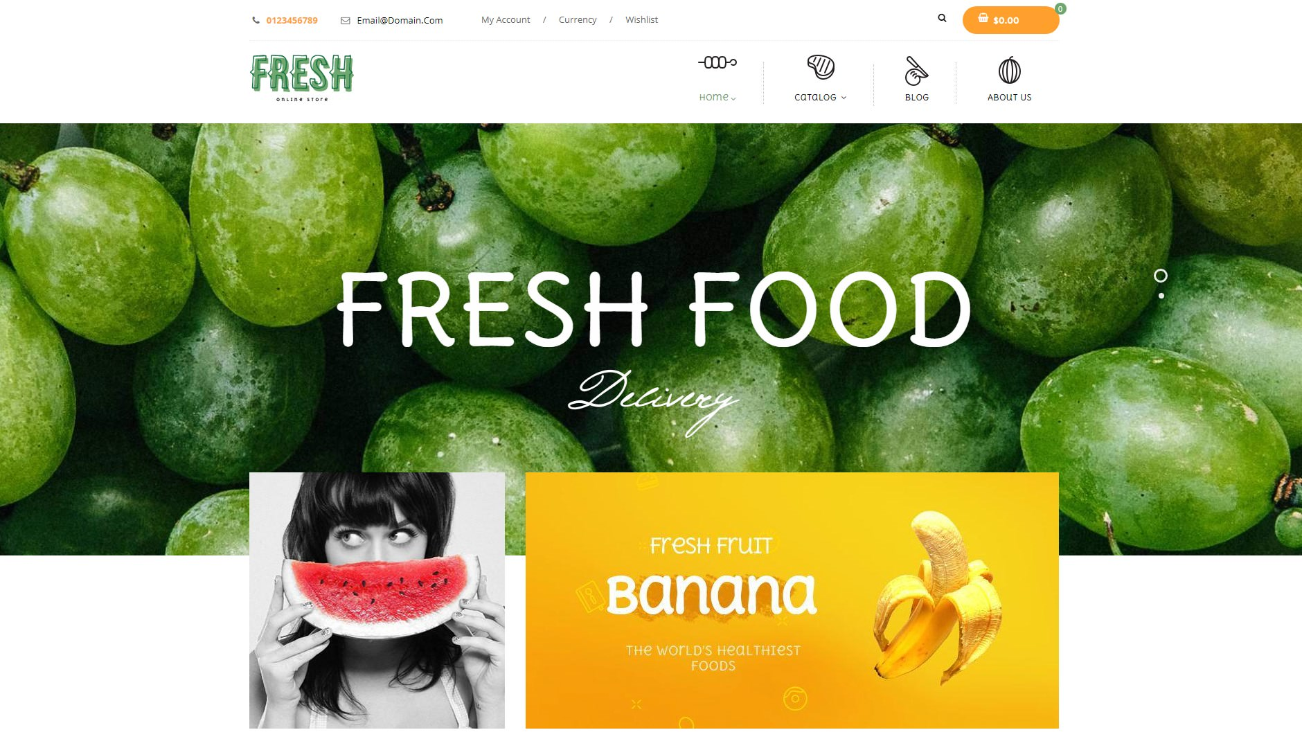 Fresh Food theme