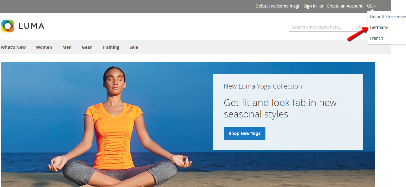 How to Create a New Store View
