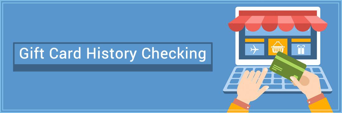 Gift Card History Checking