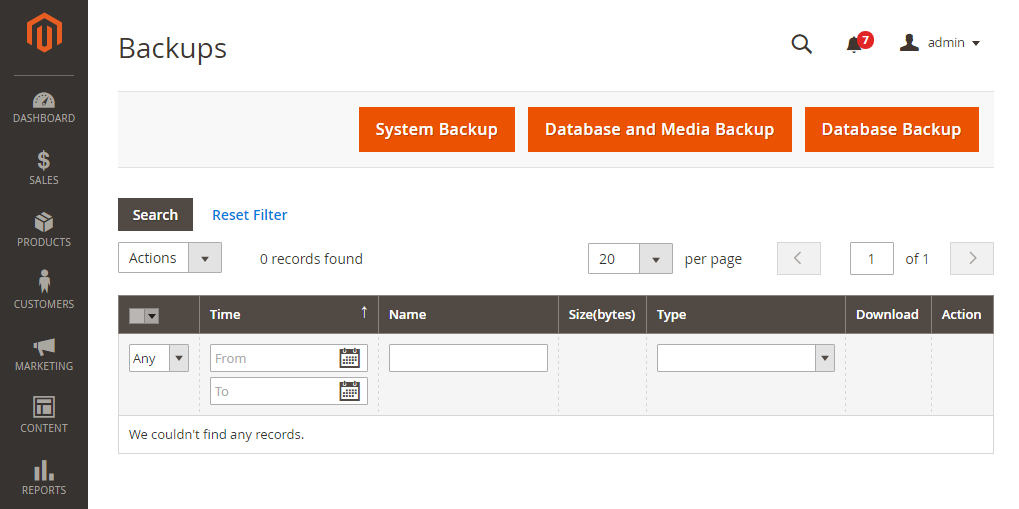 How to Create a Magento 2 Backup
