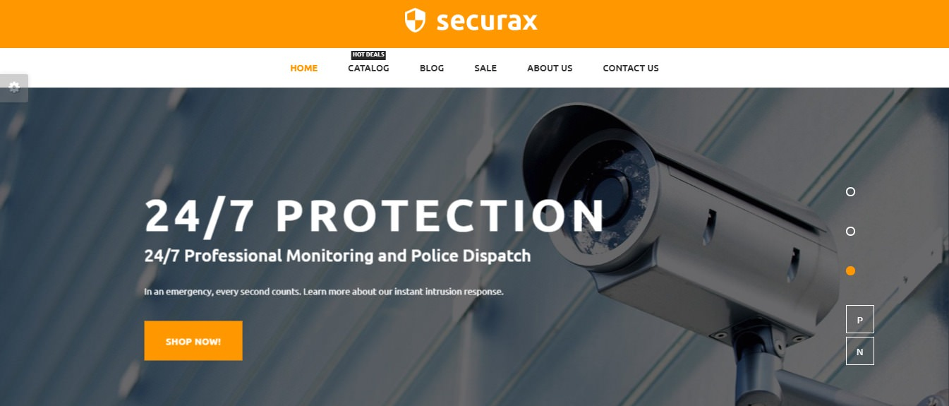 Securax theme