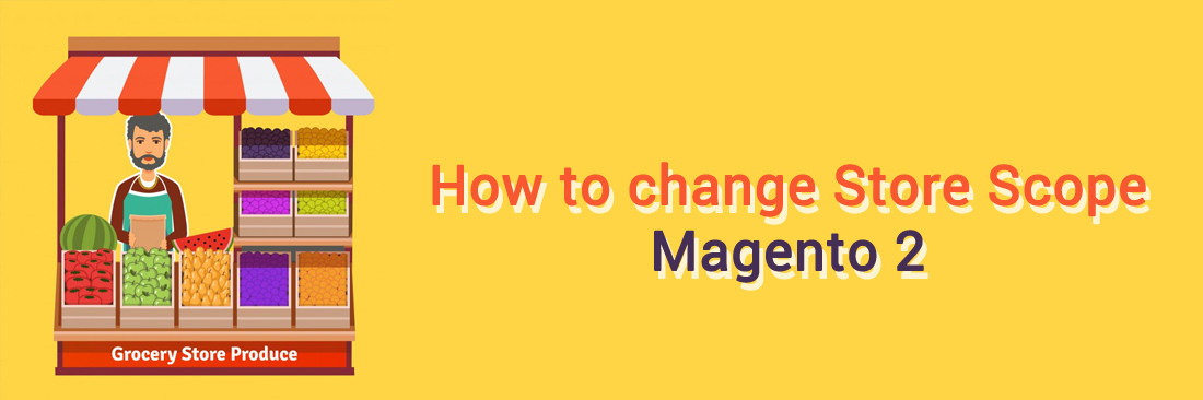 How to Change Store Scope in Magento 2