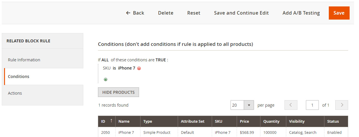 How to configure Magento 2 Featured Products