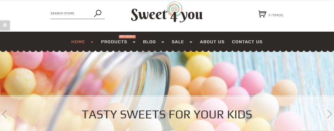 Sweet Shop theme