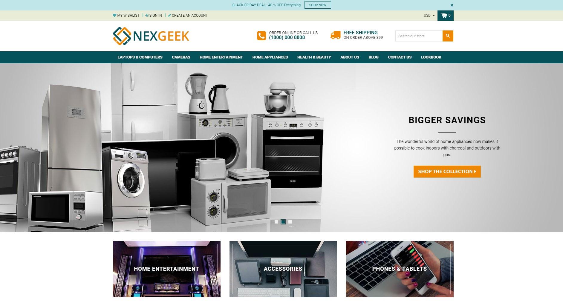NexGeek theme