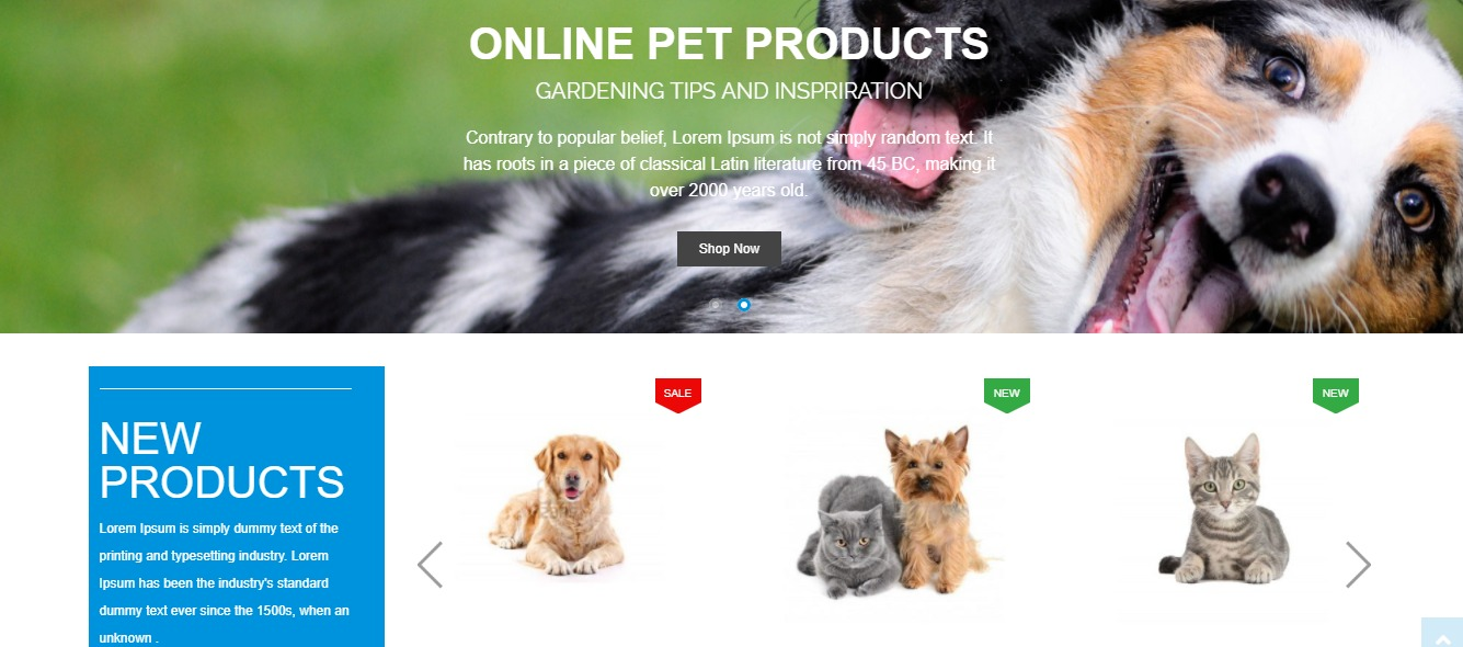 Petsy Shop theme