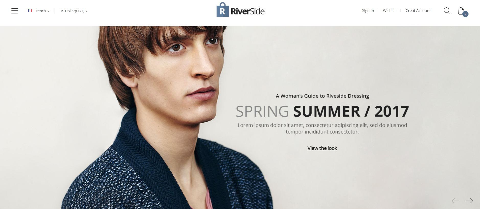Riverside theme