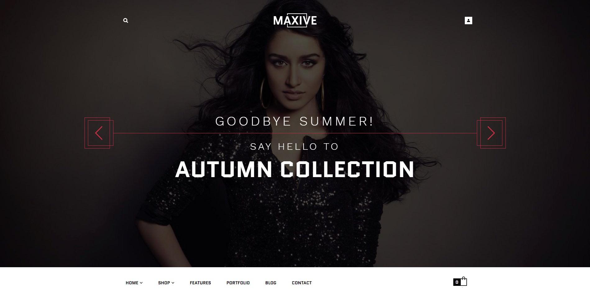 Maxive theme