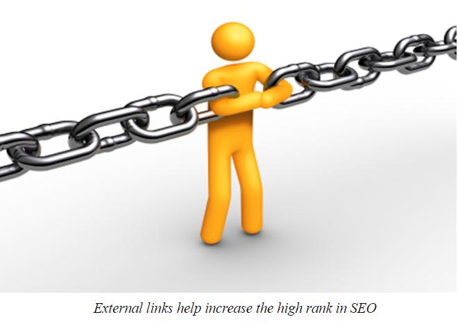 External links in Magento 2