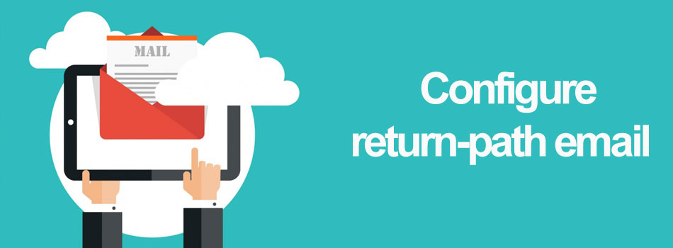Configure Return-path email