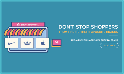 Mageplaza shop by brands Magento 2