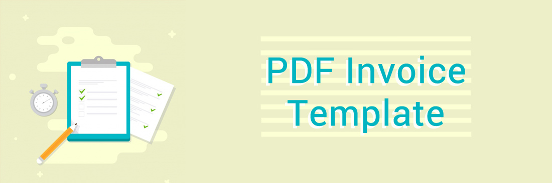 PDF Invoice Template Management