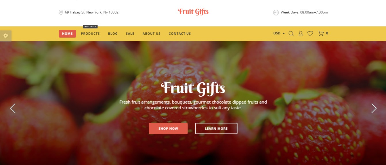 Fruit Gifts theme