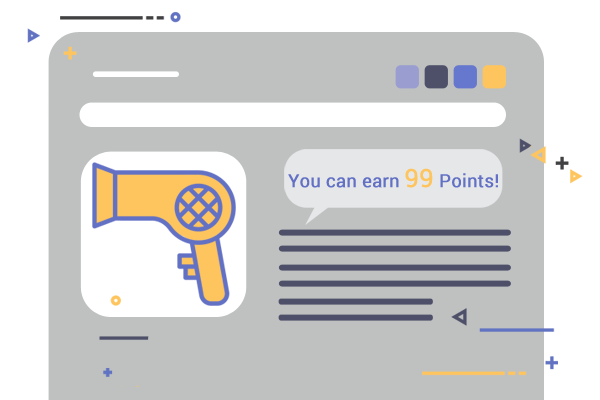 Magento 2 Reward Points program - Point Indicators