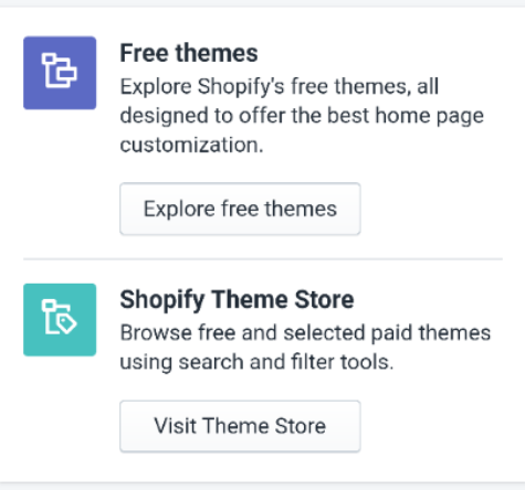 How to add a free theme from the Shopify admin on Android 4