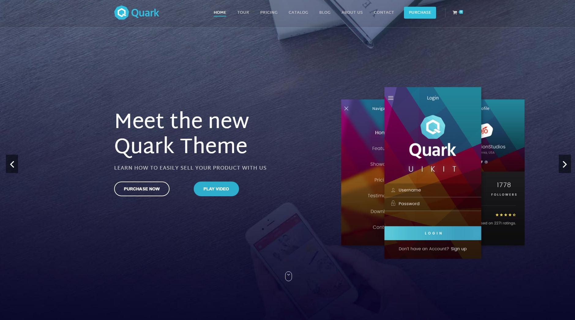 Quark theme