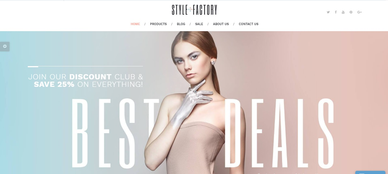 Style Factory theme