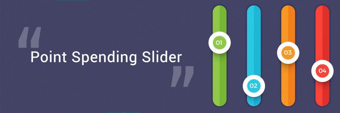 Point Spending Slider