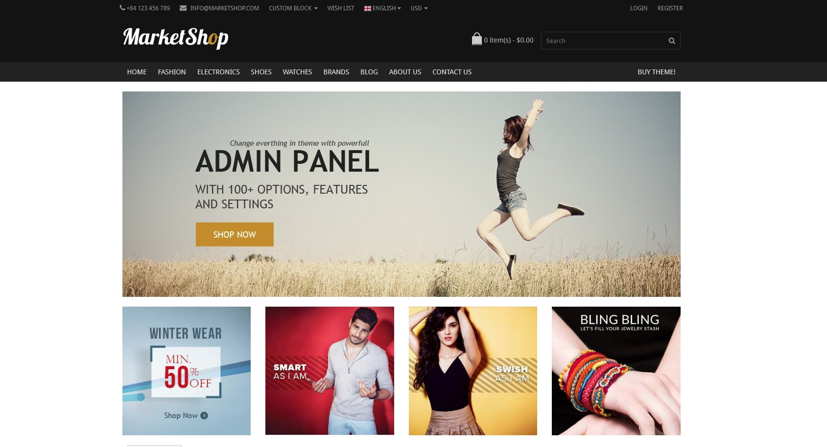 Marketshop theme