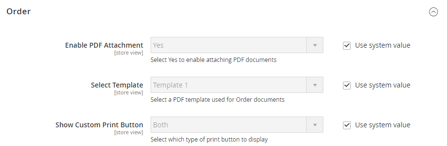 Print in Mass PDF Invoice