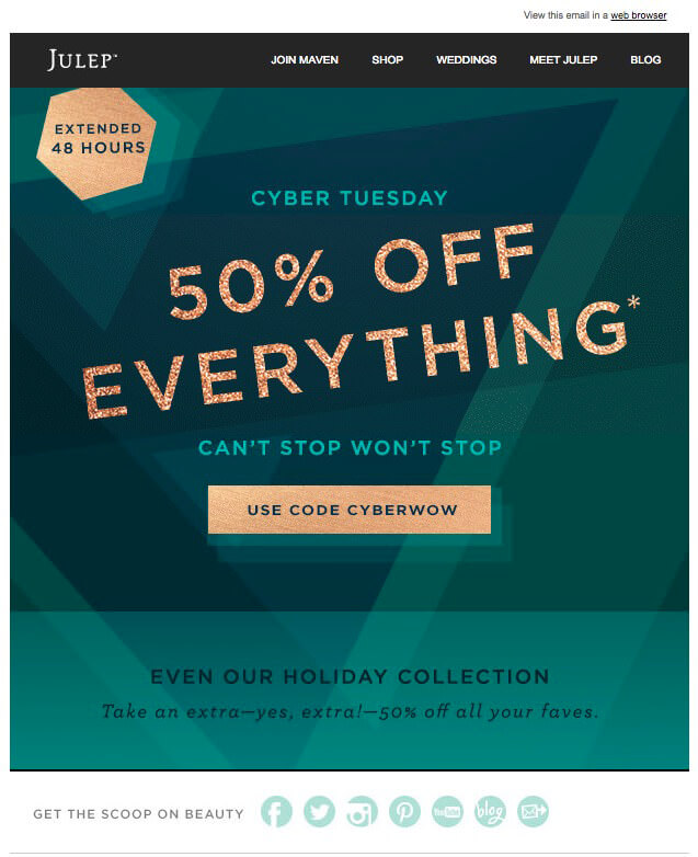 Extend Your Sale