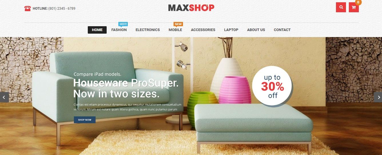 Maxshop theme