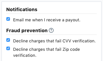 set up notifications and fraud prevention 2