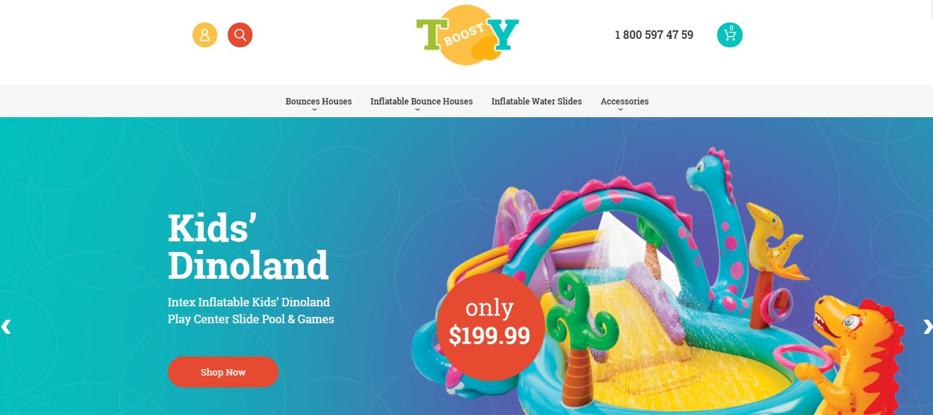 Inflatable Toy Magento Theme theme