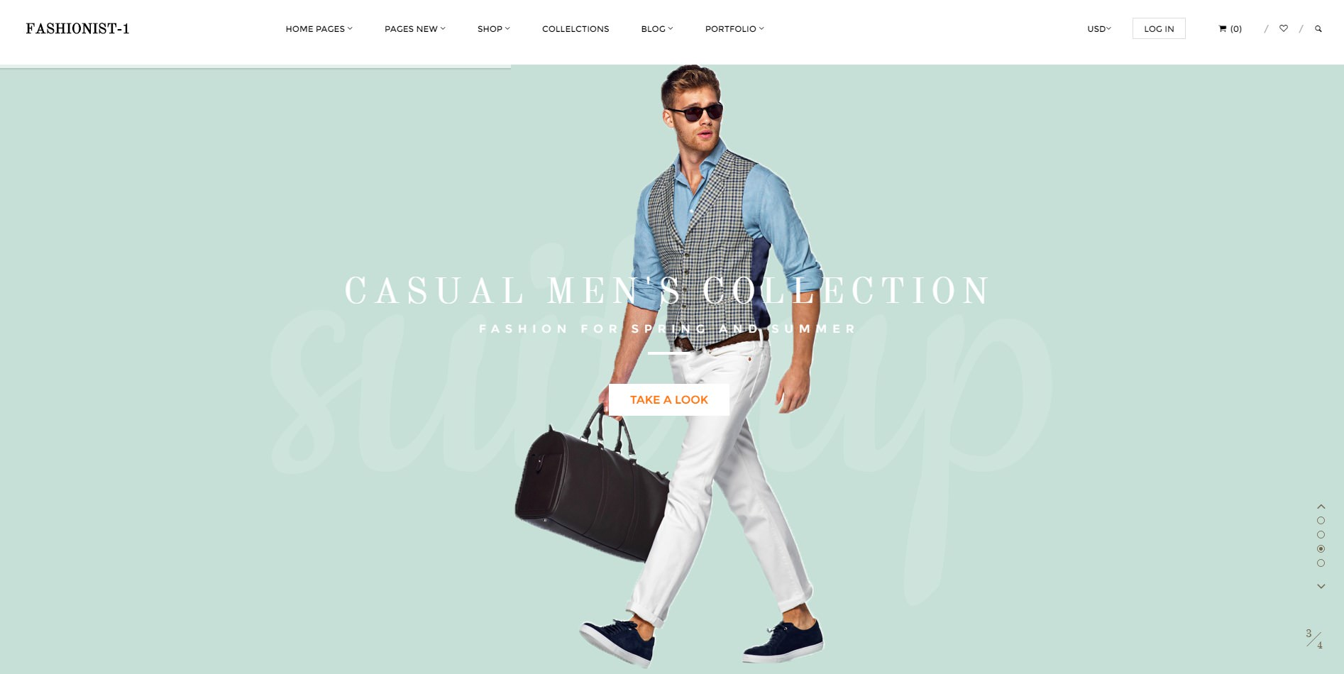 Fashionist theme