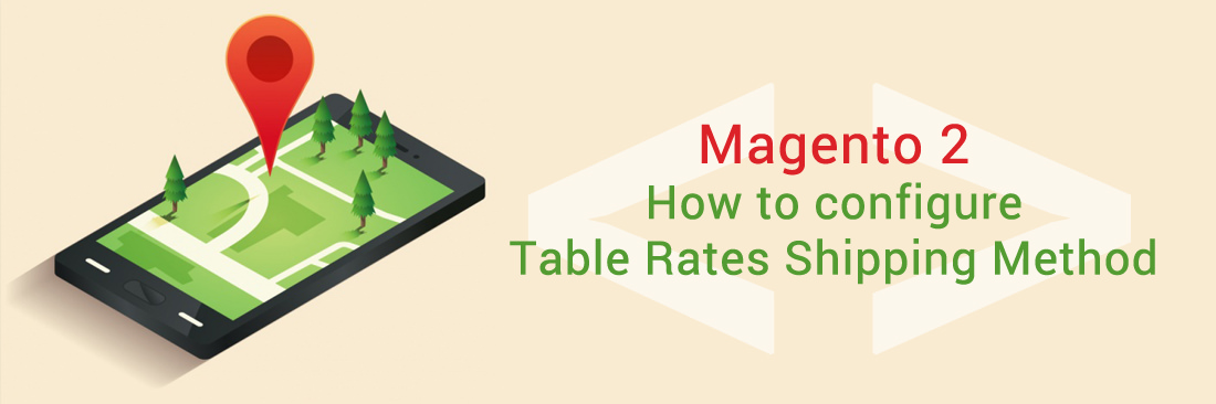 Configure Table Rates Shipping Method