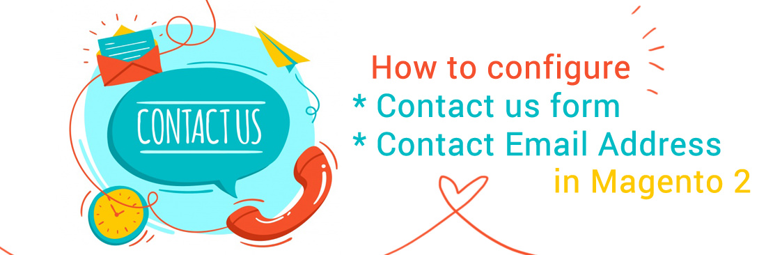 Configure Contact Us form and contact email address