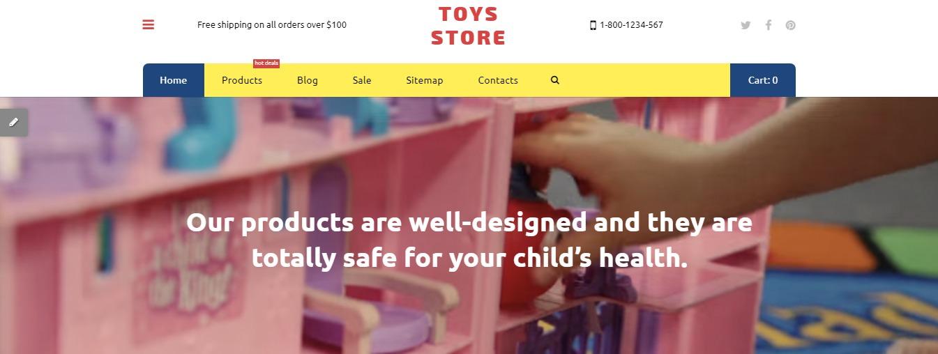 Toys Store theme