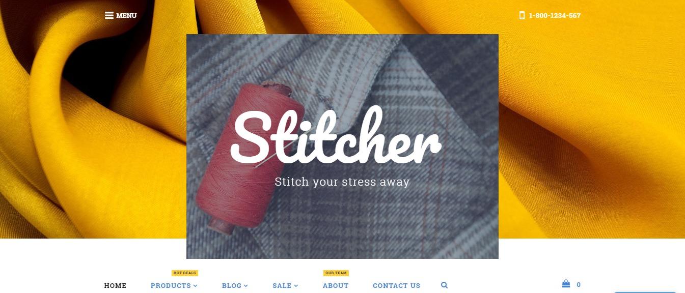 Stitcher theme