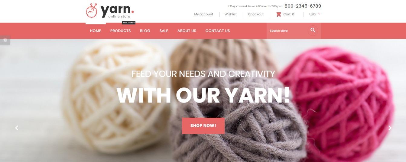 Yarn theme