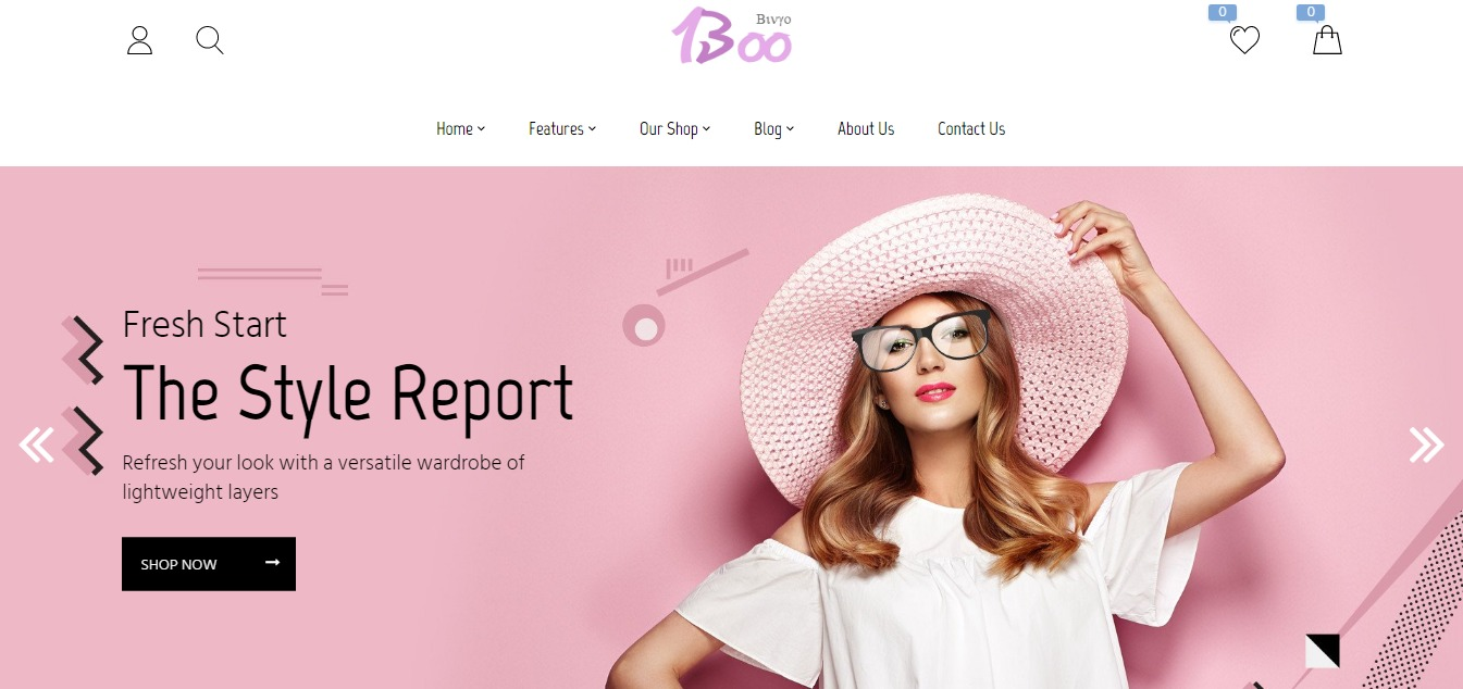 Booshop theme