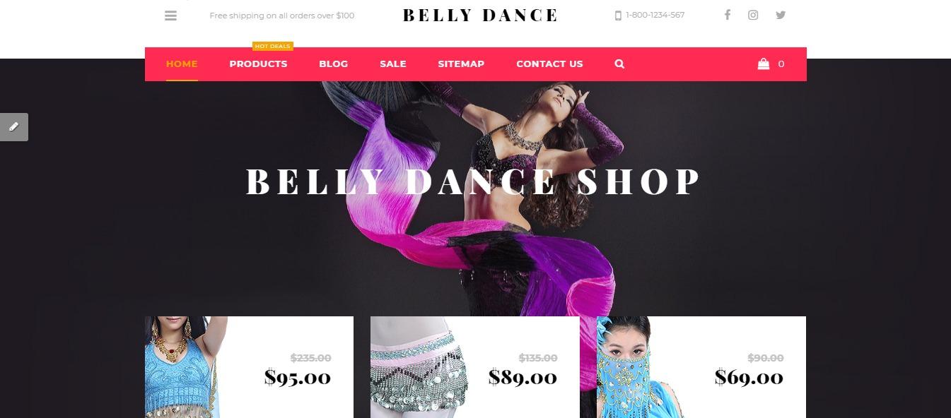 Belly Dance theme