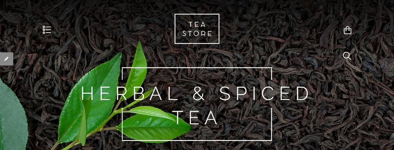 Tea Store theme