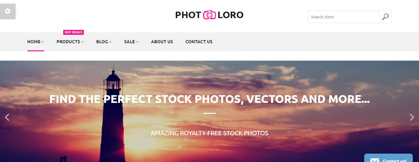 PhotoLoro theme