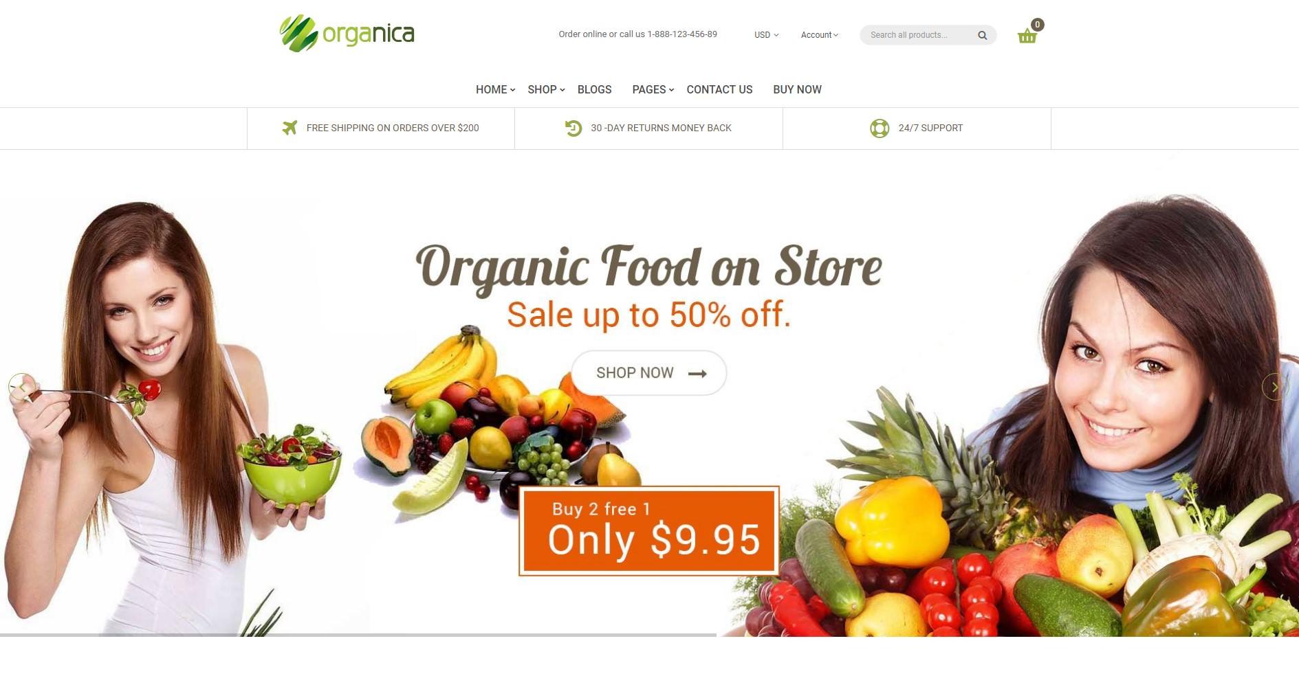 Organica theme