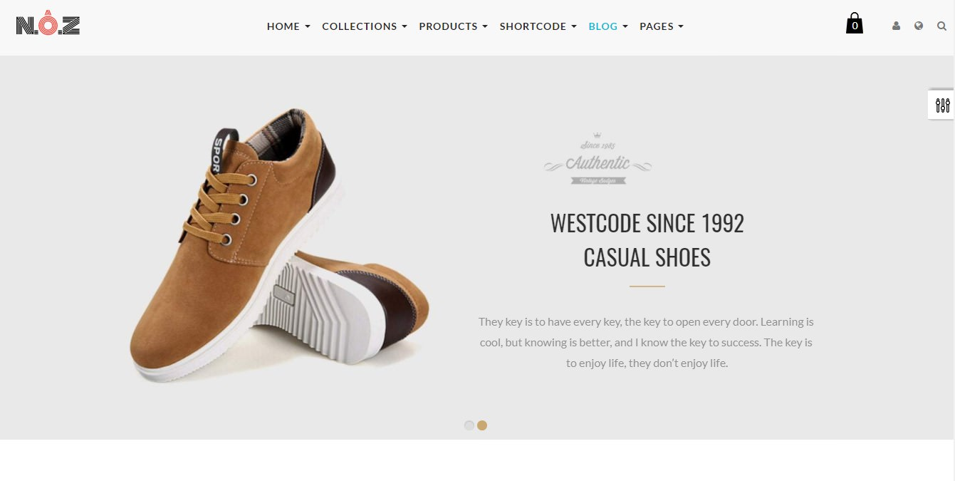 ST Shoes Store theme