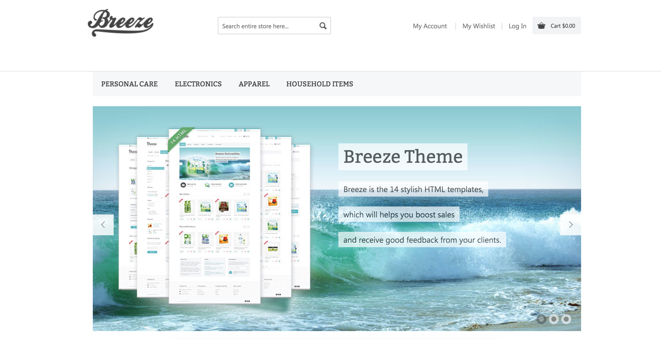 Breeze theme