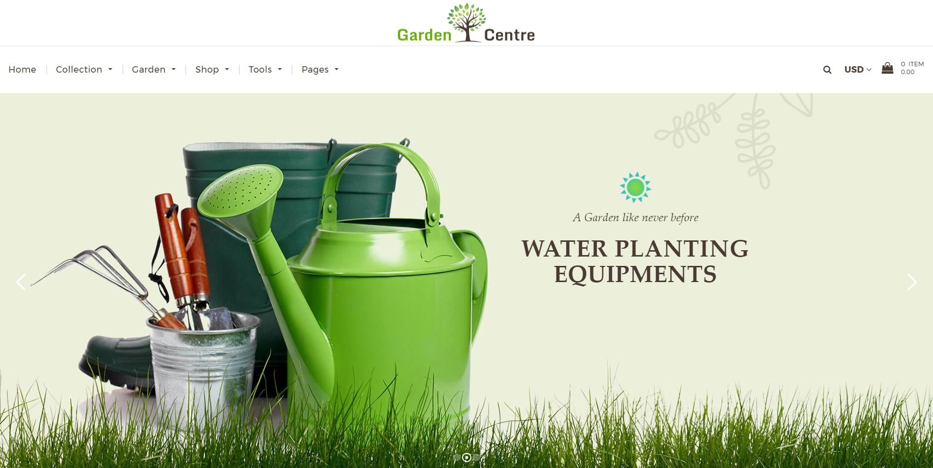 Garden Centre theme