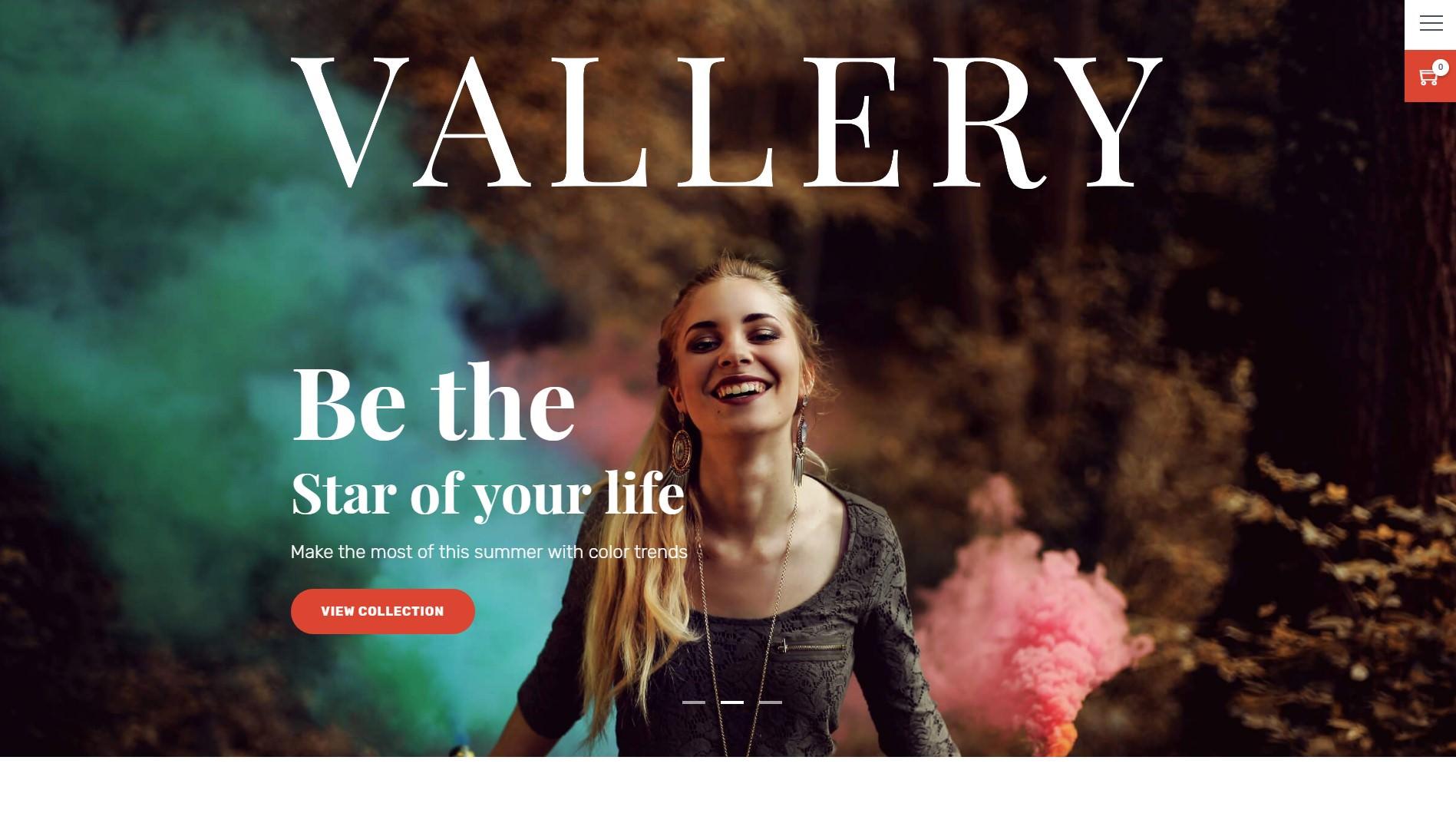 Vallery theme