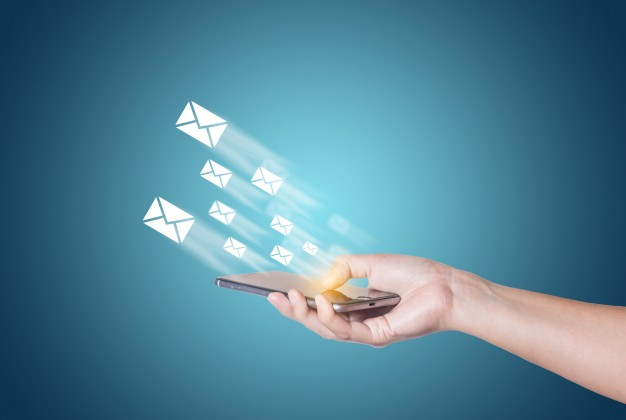 Possible to deliver via SMS, emails, mail