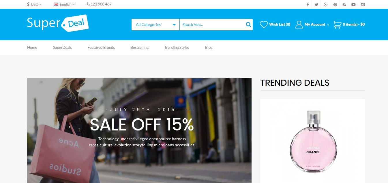 Best Magento Electronics Themes Free Premium Mageplaza - Lawn care invoice template free chanel online store