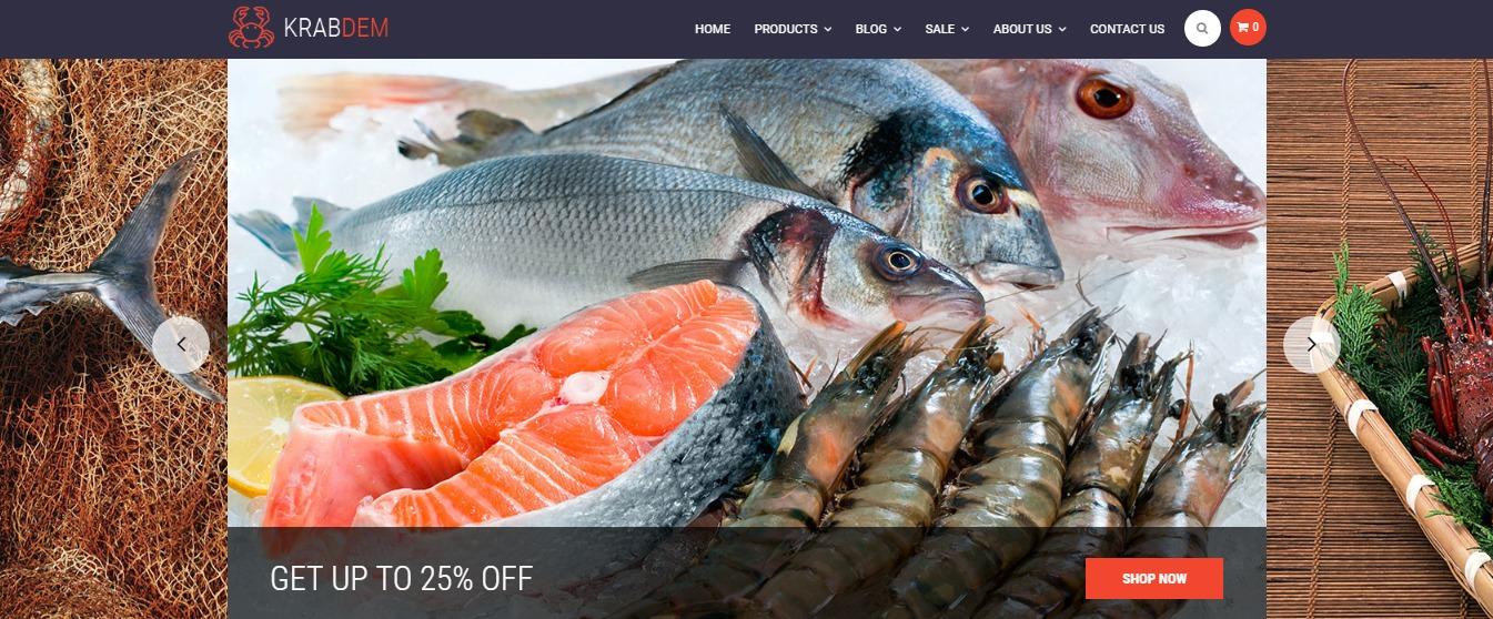 Seafood theme